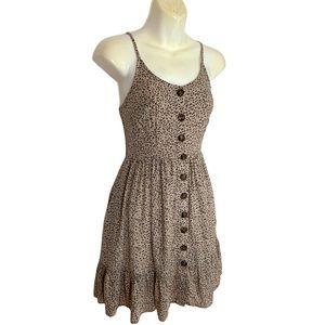 Japna animal mini dress XS